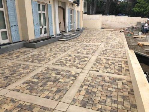 Custom Concrete and Pavers Patio