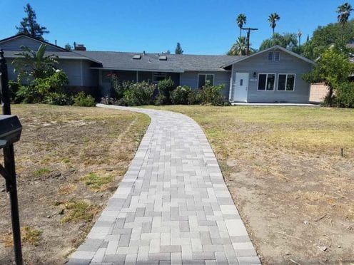 Gray Charcoal Hollan Walkway Pavers