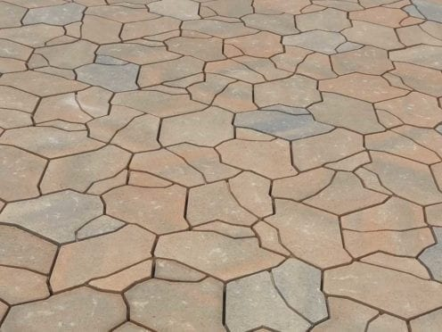cream terracotta interlocking pavers