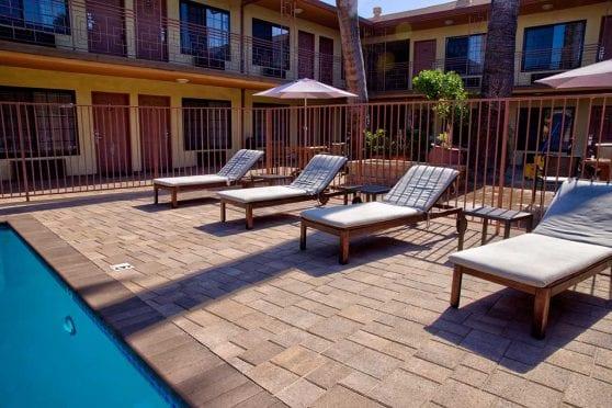 Pool Deck Pavers Ashlar Pattern