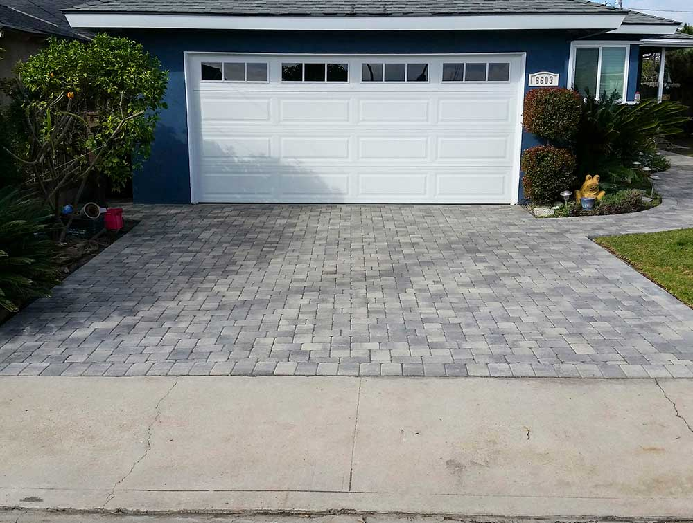 Angelus Driveway After Pavers