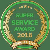 Angies List 2016 Award