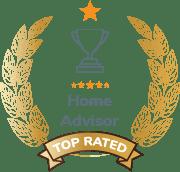 Home Advisor Top Rated Award